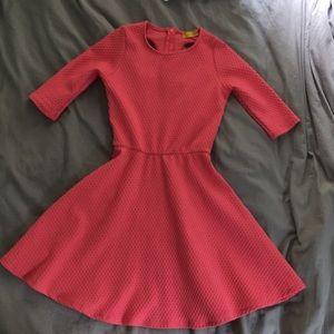 Salmon pink dress
